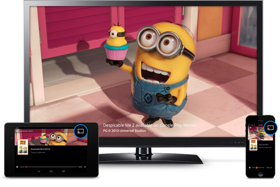 Chromecast Tv Streaming (© Google Inc.)