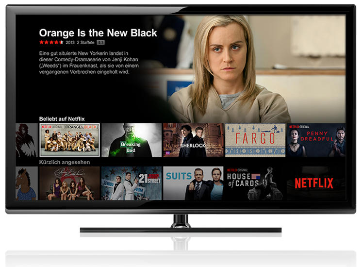 Netflix TV Streaming (© Netflix)